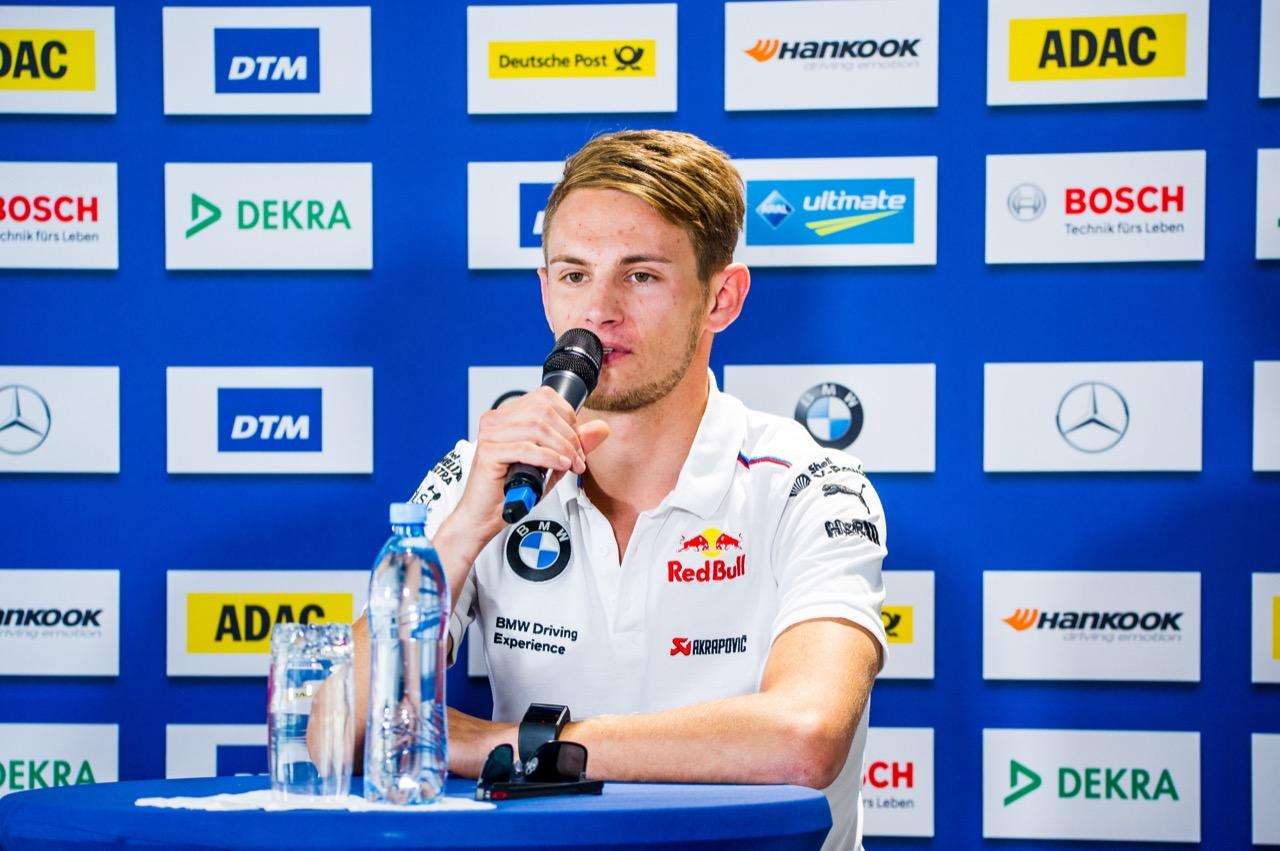 Marco Wittmann (GER) BMW Team RMG, BMW M4 DTM 21.07.2017
