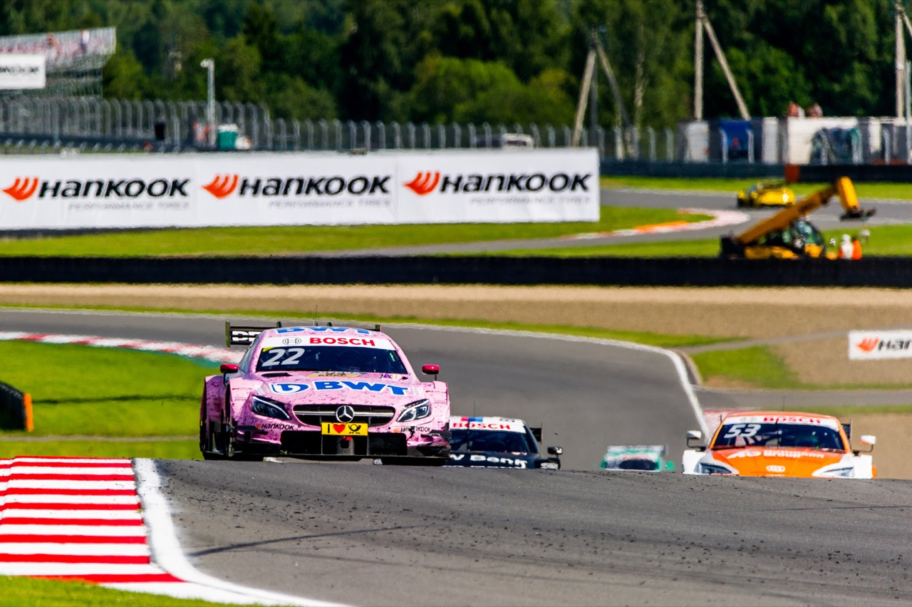 Lucas Auer (AUT) Mercedes-AMG Team HWA, Mercedes-AMG C63 DTM 22.07.2017