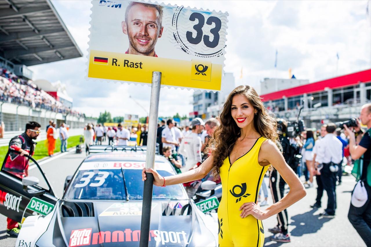 DTM grid girl 22.07.2017
