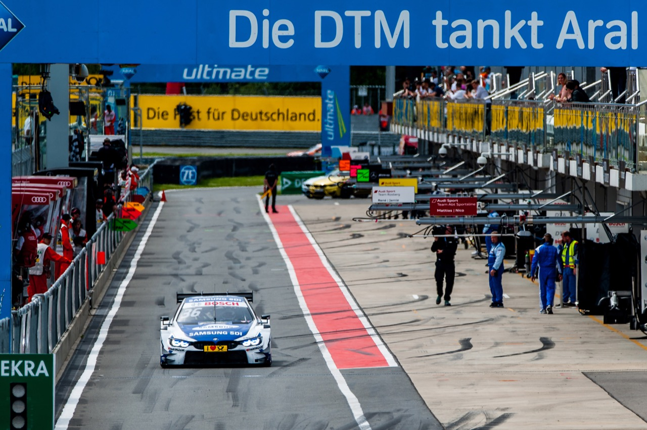 Maxime Martin (BEL) BMW Team RBM, BMW M4 DTM 22.07.2017