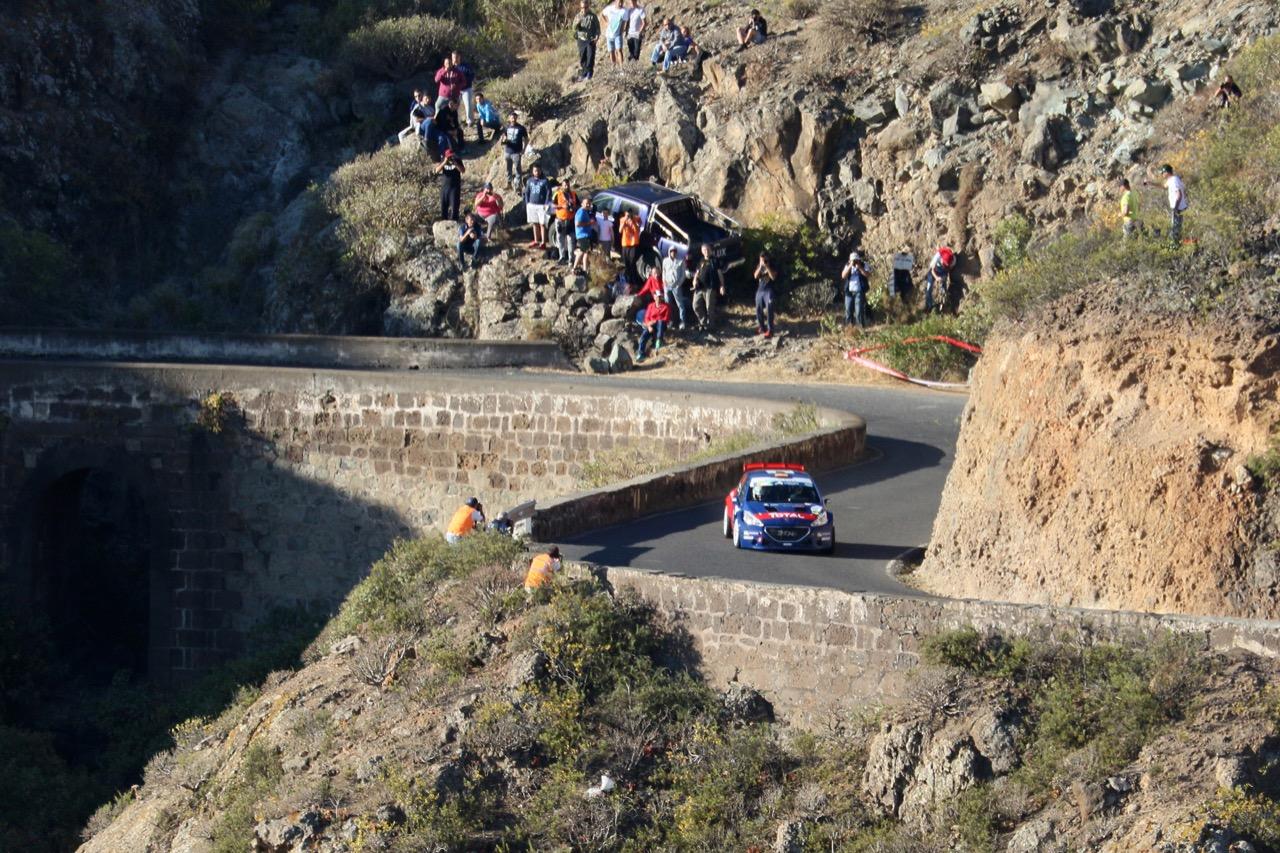 04.05.2017 - Shakedown, José María López Planelles (ESP) - Borja Hernández Rozada (ESP) Peugeot 208 T16, Peugeot Rally Academy