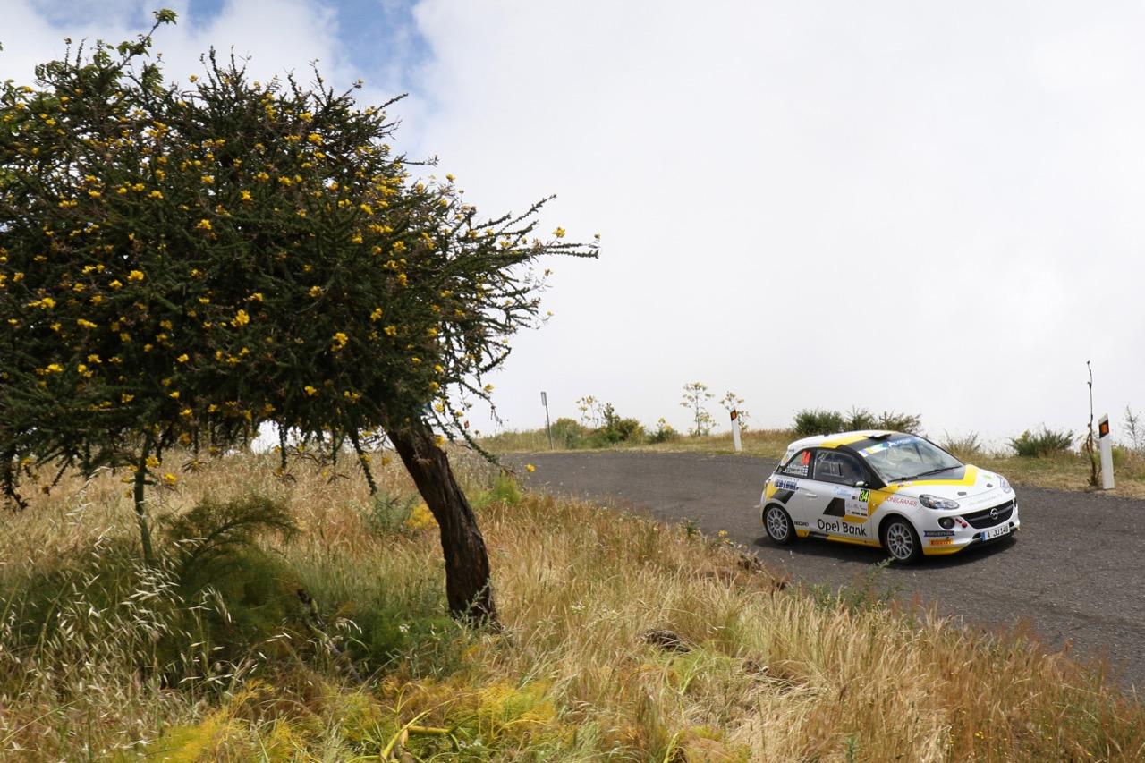 05.05.2017 - Jari Huttunen (FIN) - Antti Linnaketo (FIN) Opel Adam R2, ADAC Opel Rallye Junior Team