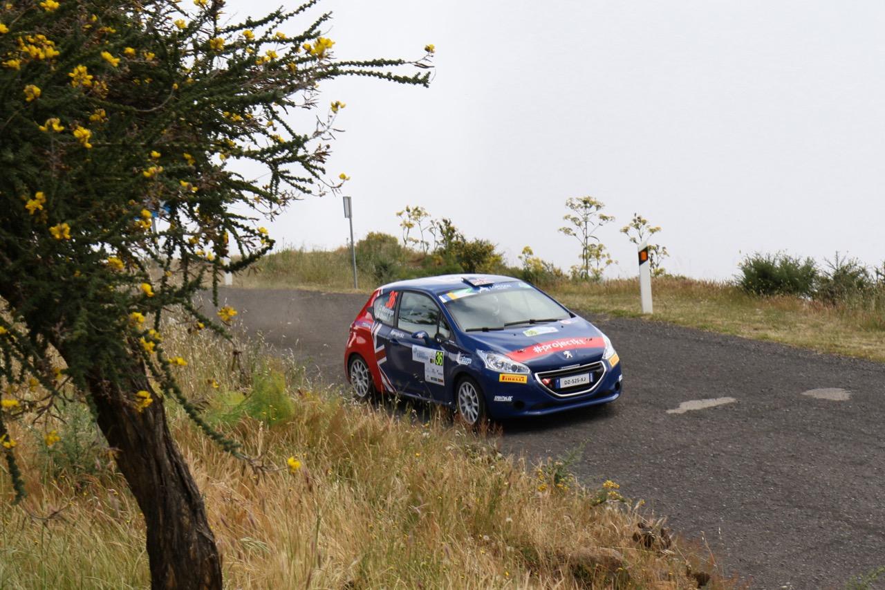 05.05.2017 - Catie Munnings (GBR) - Anne Katharina Stein (DEU) Peugeot 208 VTi R2, Saintéloc Junior Team