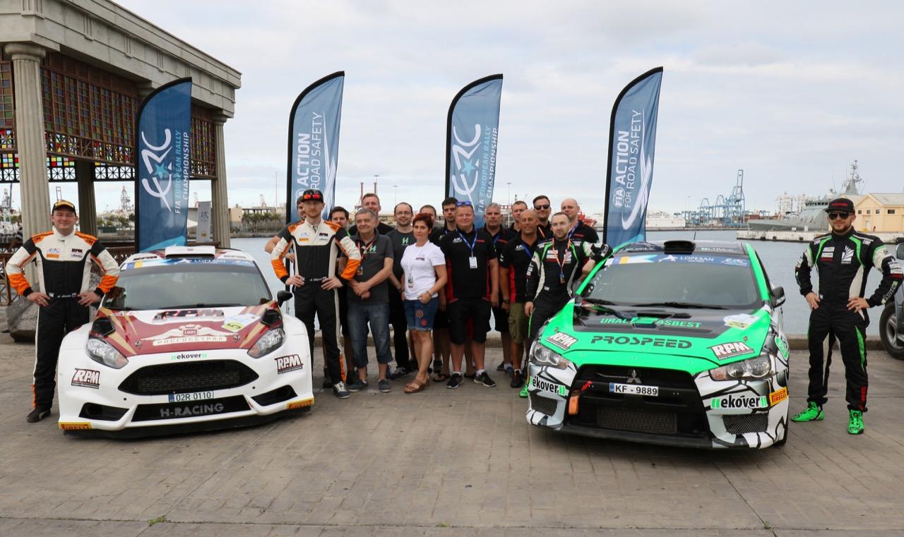 04.05.2017 - Shakedown, Alexey Lukyanuk (RUS) - Alexey Arnautov (RUS) Ford Fiesta R5, Russian Performance Motorsport