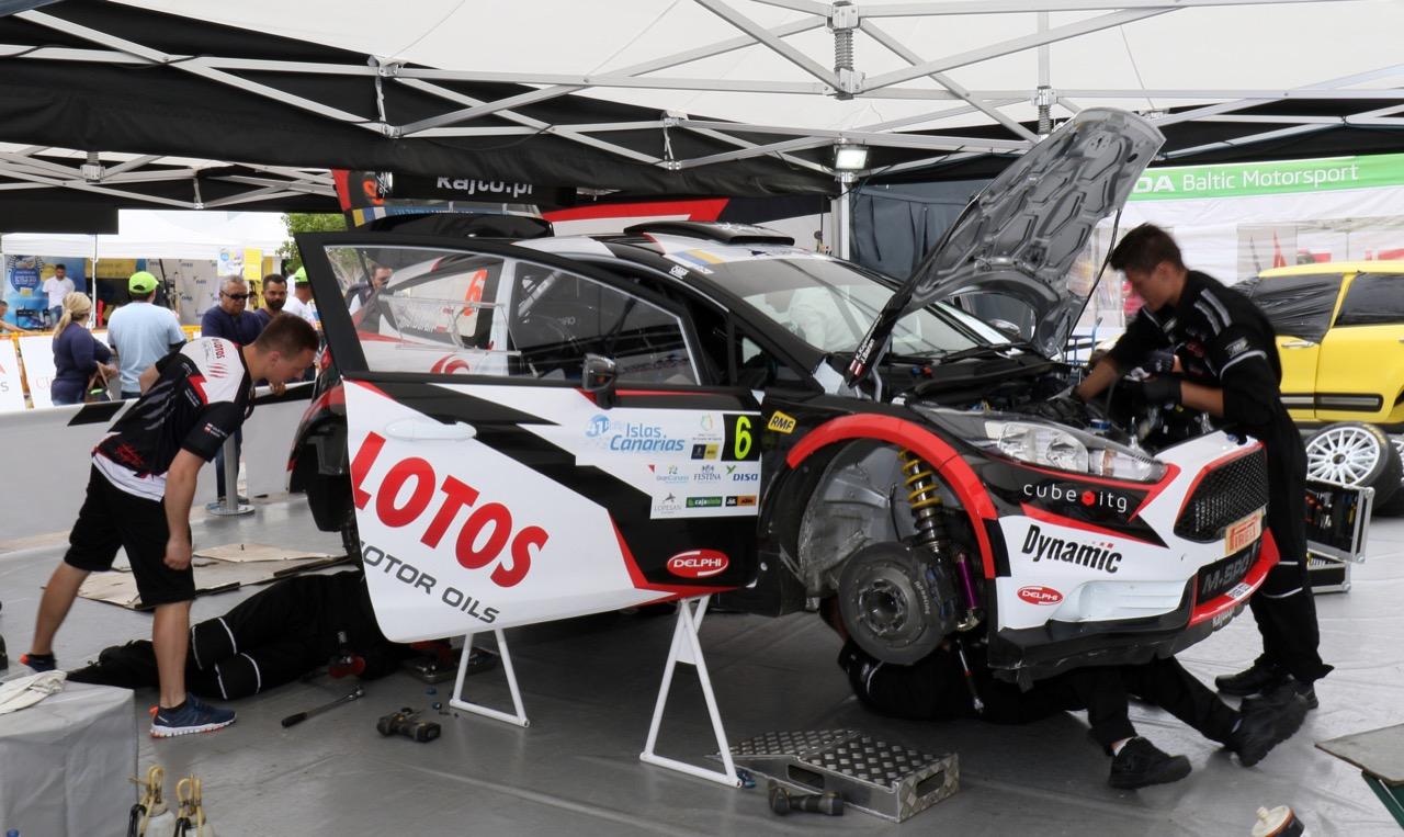 06.05.2017 - Kajetan Kajetanowicz (POL) - Jaroslaw Baran (POL) Ford Fiesta R5, Lotos Rally Team