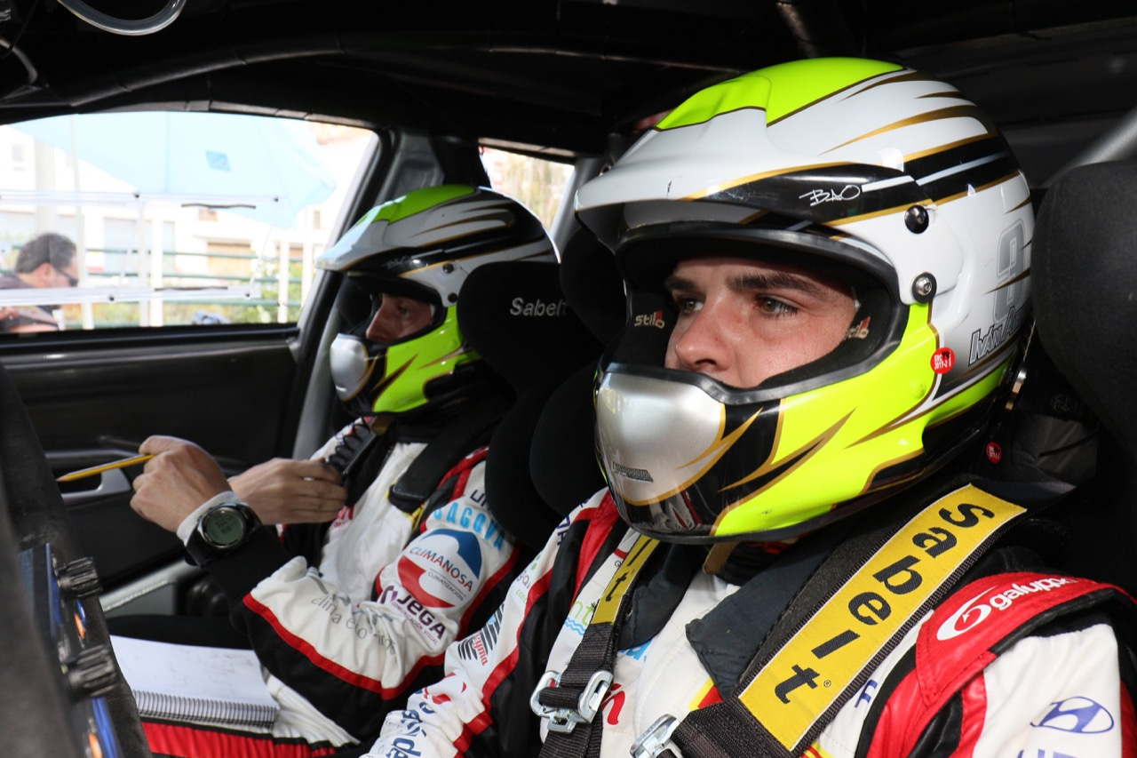06.05.2017 - Iván Ares Roel (ESP) - José A. Pintor Bouzas (ESP) Hyundai i20 R5, Esc. Yacar Racing