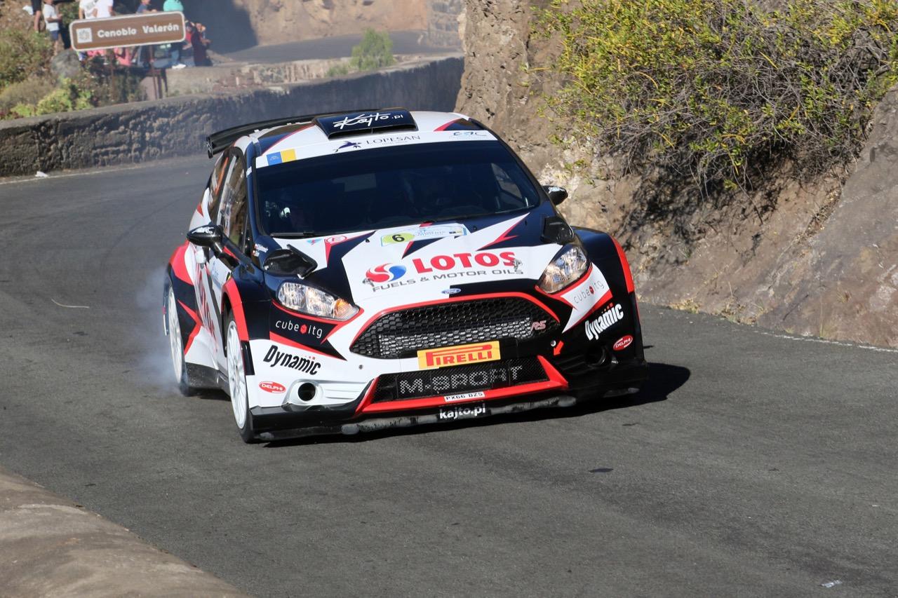 04.05.2017 - Shakedown, Kajetan Kajetanowicz (POL) - Jaroslaw Baran (POL) Ford Fiesta R5, Lotos Rally Team