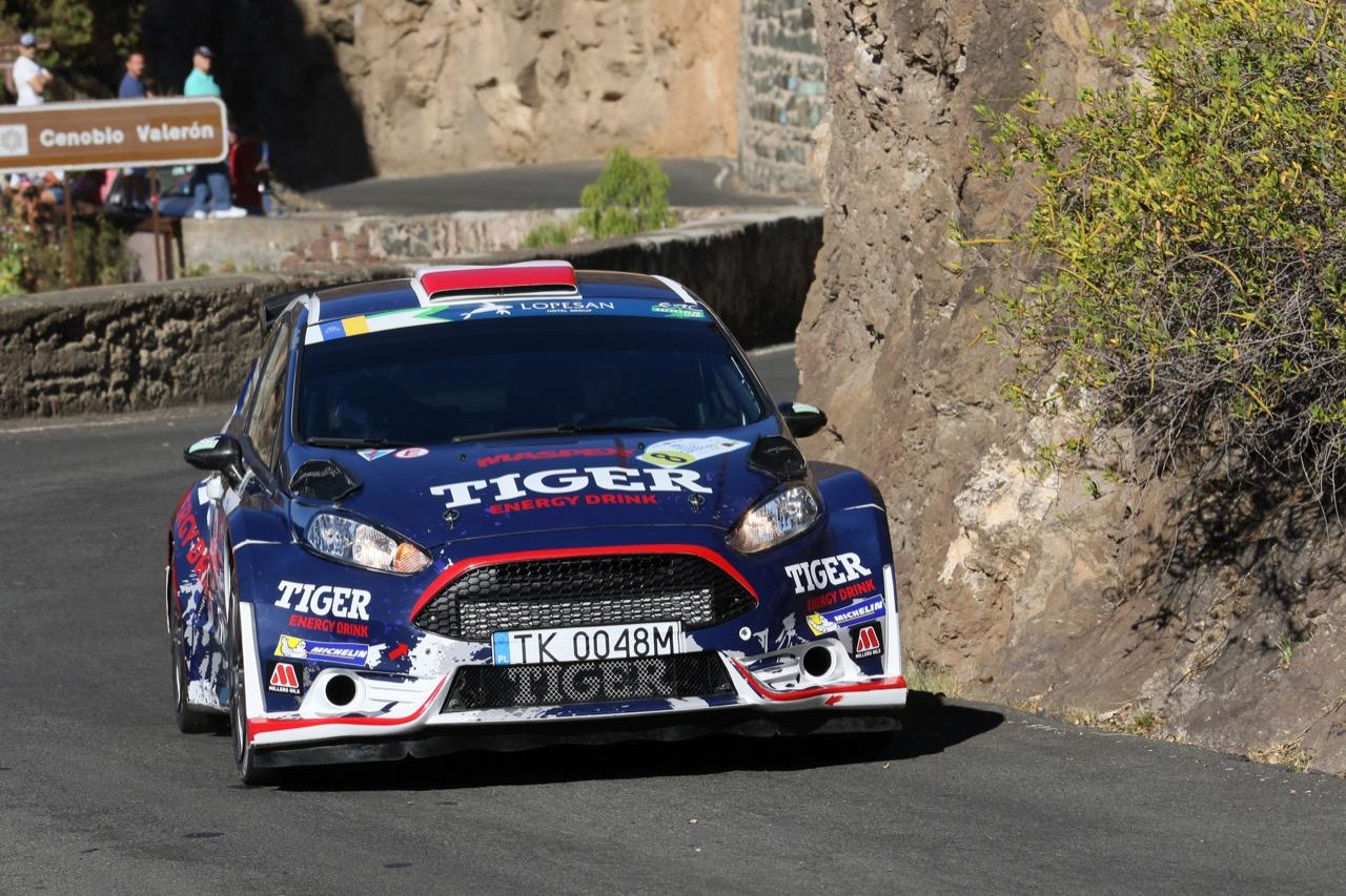 04.05.2017 - Shakedown, Tomasz Kasperczyk (POL) - Damian Syty (POL) Ford Fiesta R5, Tiger Energy Drink Rally Team