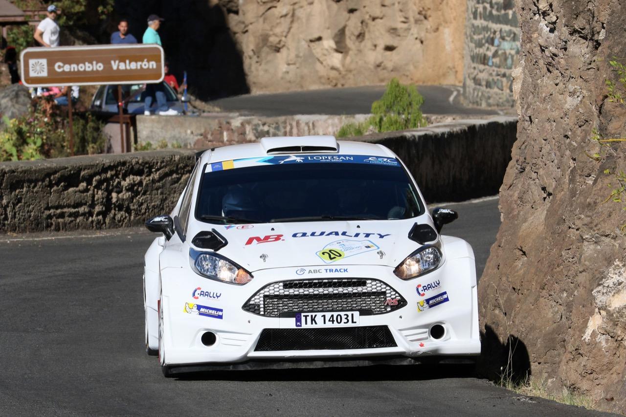 04.05.2017 - Shakedown, Jarosław Kołtun (POL) - Ireneusz Pleskot (POL) Ford Fiesta R5, C-Rally