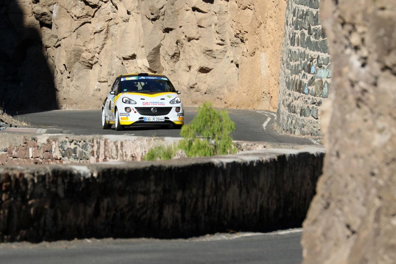 04.05.2017 - Shakedown, Chris Ingram (GBR) - Elliot Edmondson (GBR) Opel Adam R2, Opel Rallye Junior Team