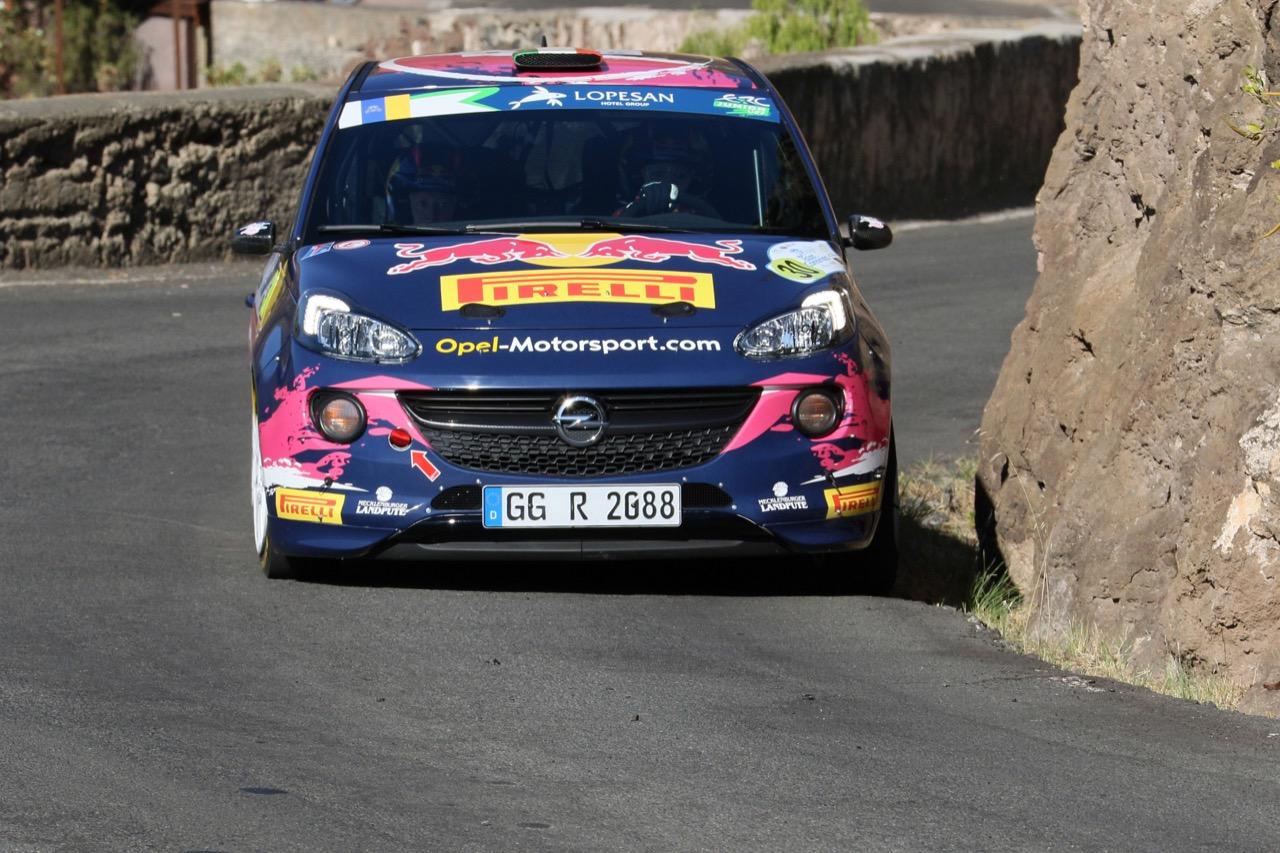 04.05.2017 - Shakedown, Tamara Molinaro (ITA) - Ursula Mayrhofer (AUT) Opel Adam R2, Opel Rallye Junior Team