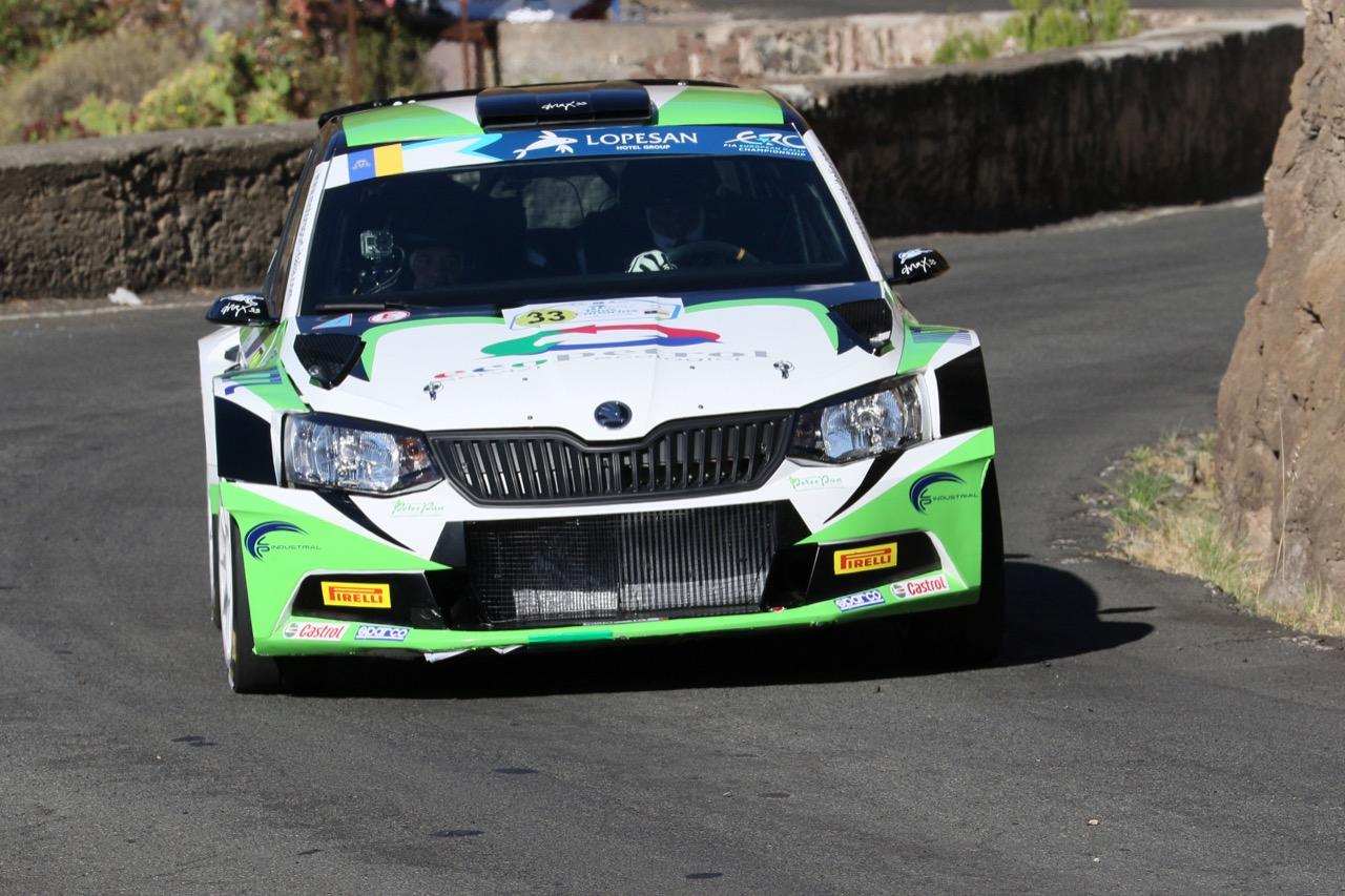 04.05.2017 - Shakedown, Max Rendina (ITA) - Emanuele Inglesi (ITA) Skoda Fabia R5, Motorsport Italia