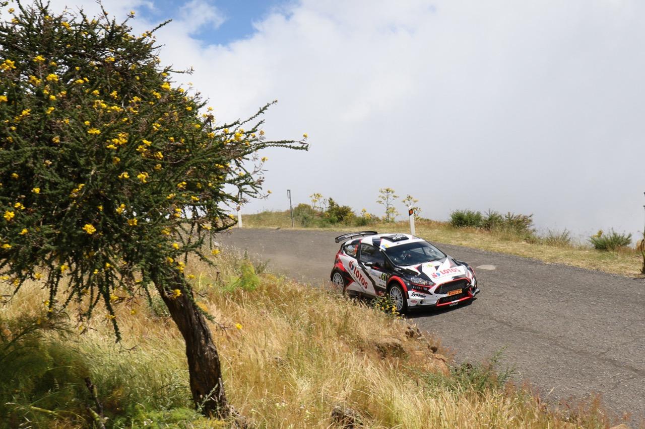 05.05.2017 - Kajetan Kajetanowicz (POL) - Jaroslaw Baran (POL) Ford Fiesta R5, Lotos Rally Team