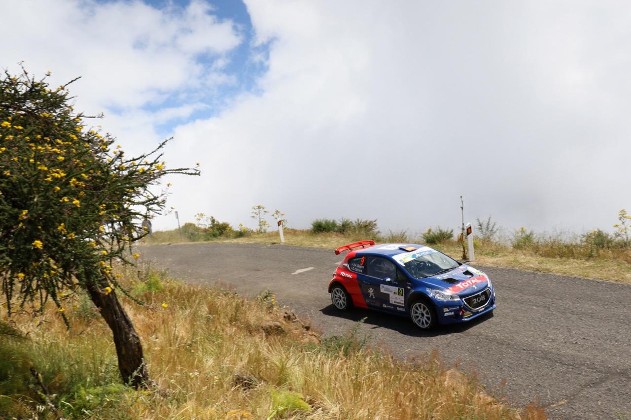 05.05.2017 - José Antonio Suárez Miranda (ESP) - Cándido Carrera Estévez (ESP) Peugeot 208 T16, Peugeot Rally Academy