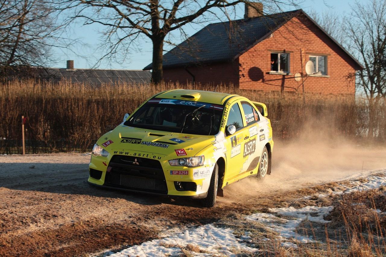 Alexey Lukyanuk (RUS) Alexey Arnautov (RUS) Mitsubishi Lancer Evolution X, team ASRT