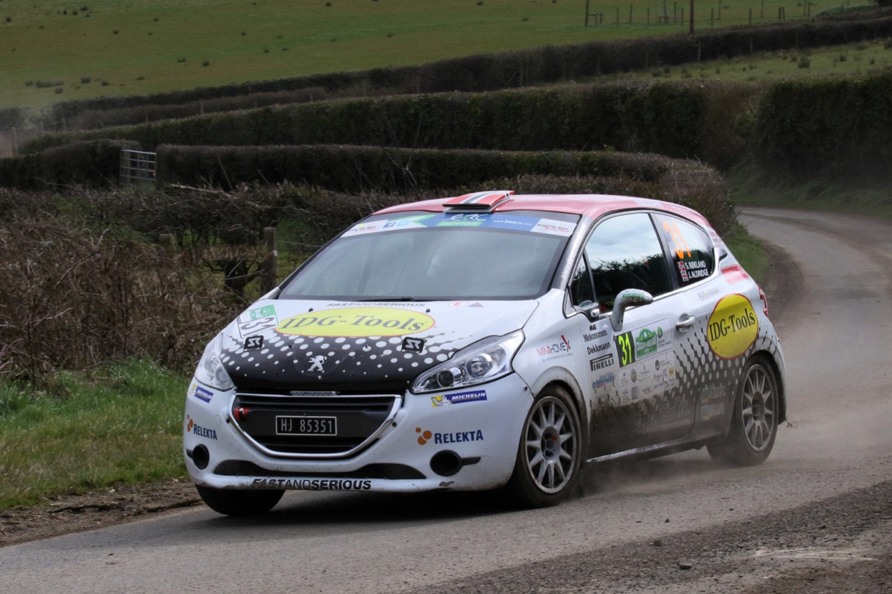 Steve Rokland (NOR) - James Aldridge (GBR), Peugeot 208 vti