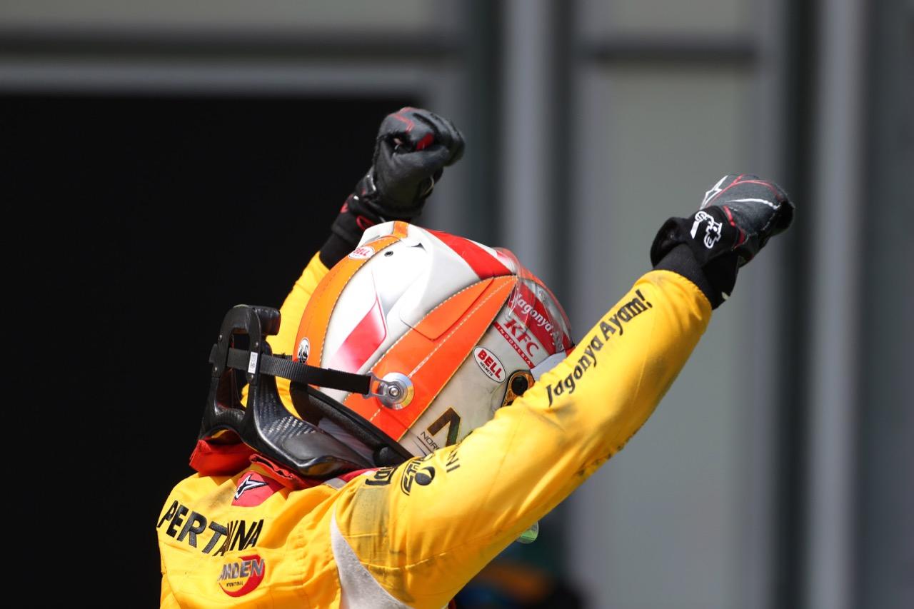 25.06.2017 - Race 2,  Norman Nato (FRA) Pertamina Arden race winner