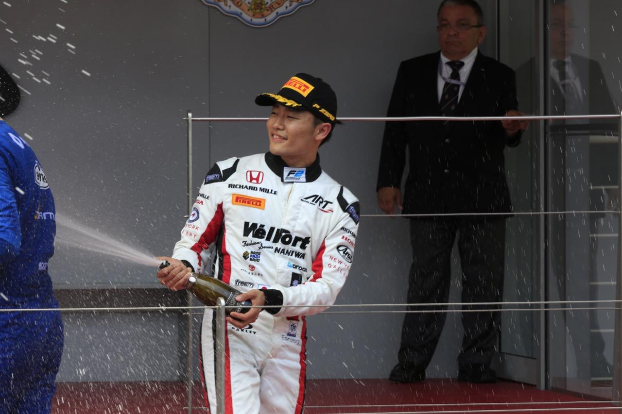 26.05.2017 - Race 1, 3rd place Nobuharu Matsushita (JAP) Art Grand Prix