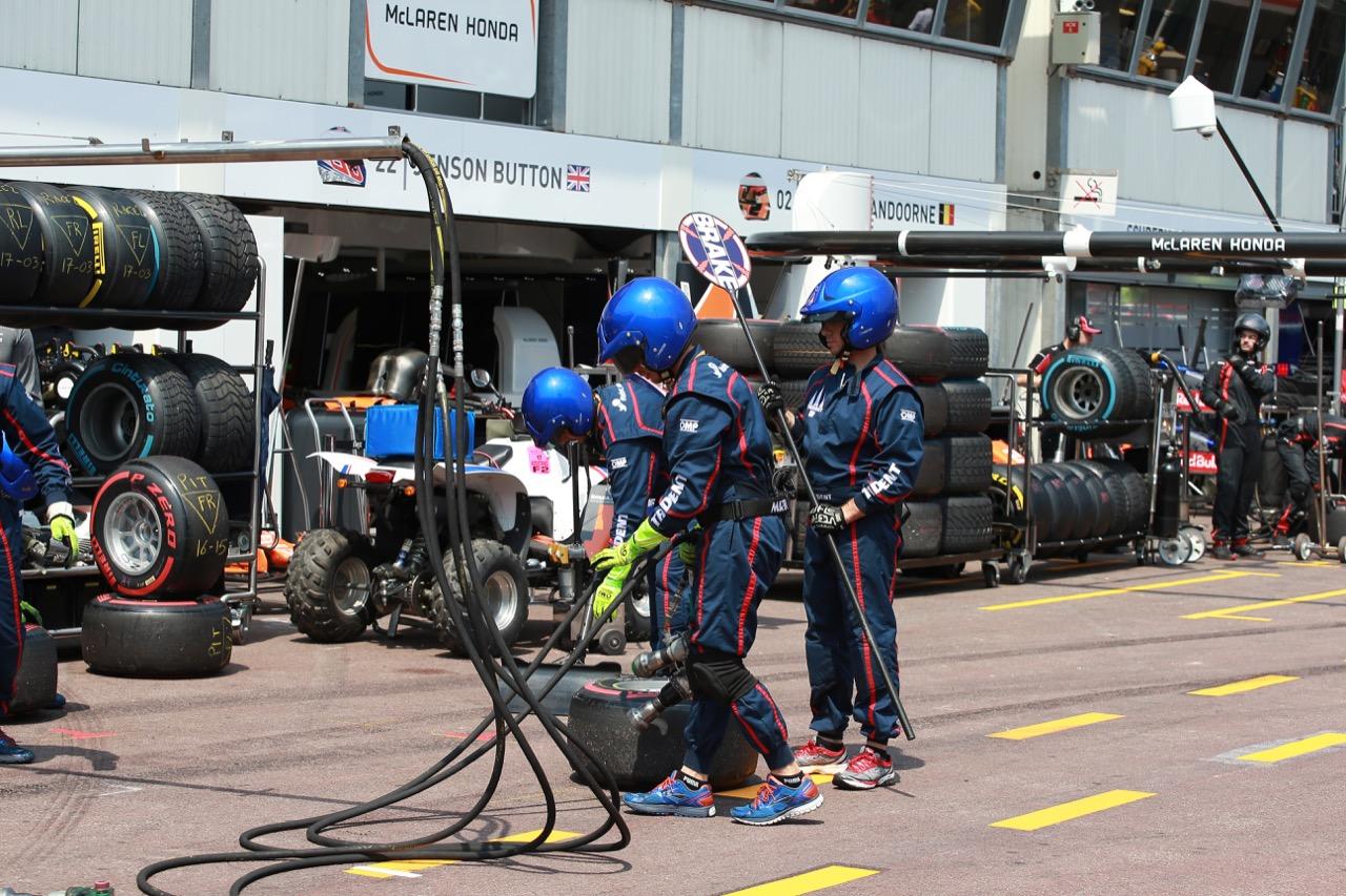 26.05.2017 - Race 1, Trident mechanics