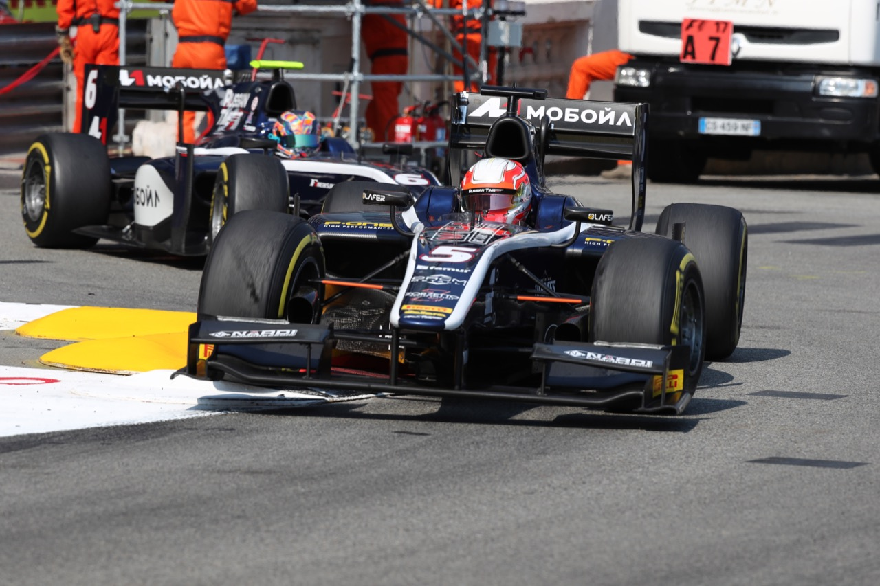27.05.2017 - Race 2, Luca Ghiotto (ITA) RUSSIAN TIME