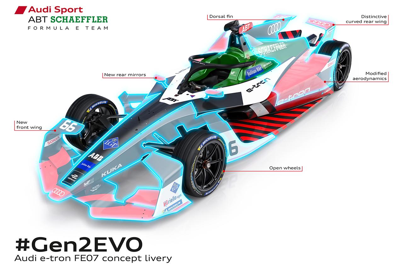 Formula E Gen2 Evo: Audi, DS Techeetah e Envision Virgin Racing