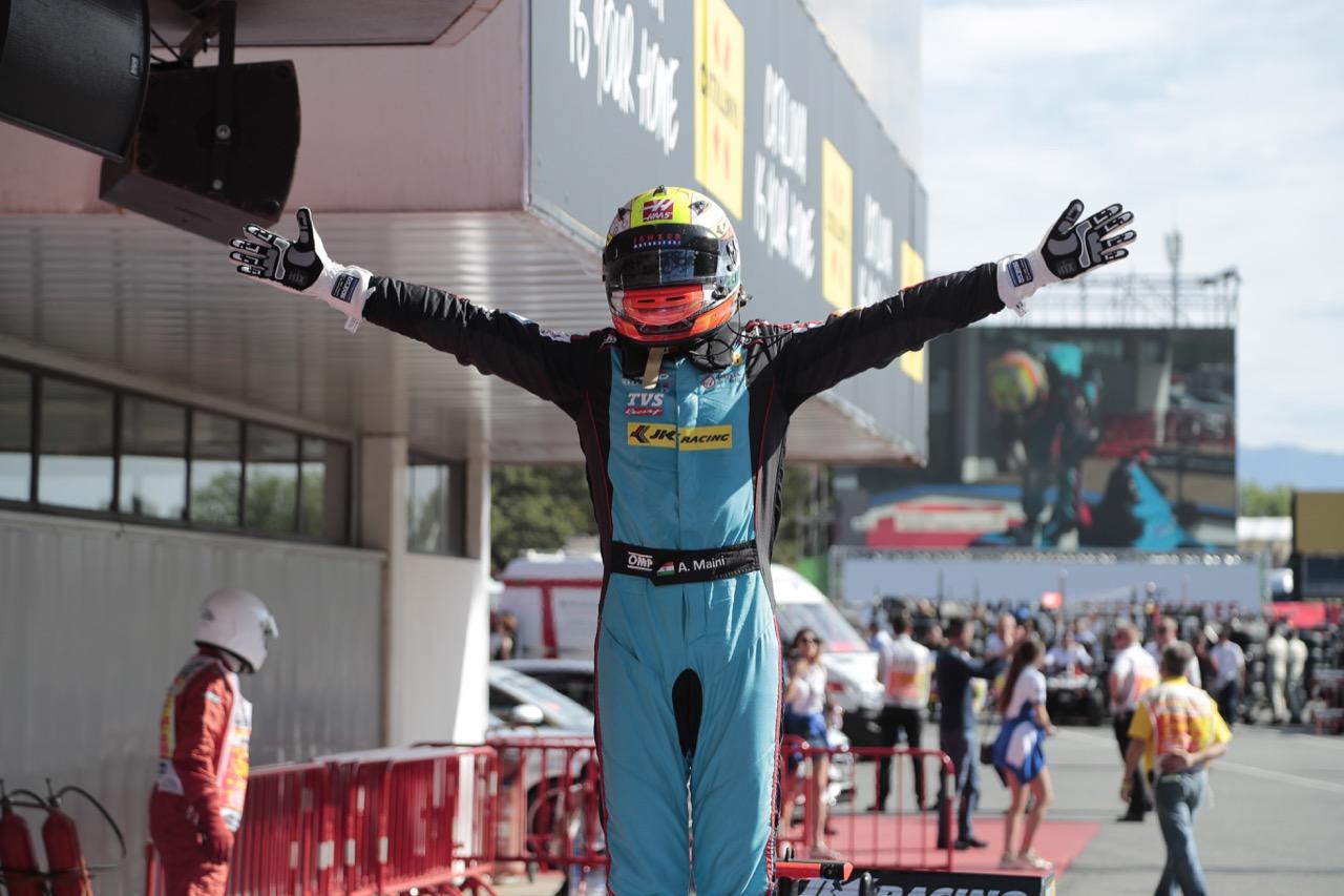 14.05.2017 - Race 2, Arjun Maini (IND) Jenzer Motorsport race winner