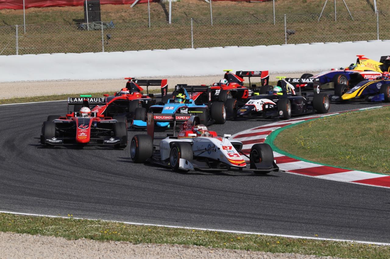 14.05.2017 - Race 2, Raoul Hyman (SA) Campos Racing