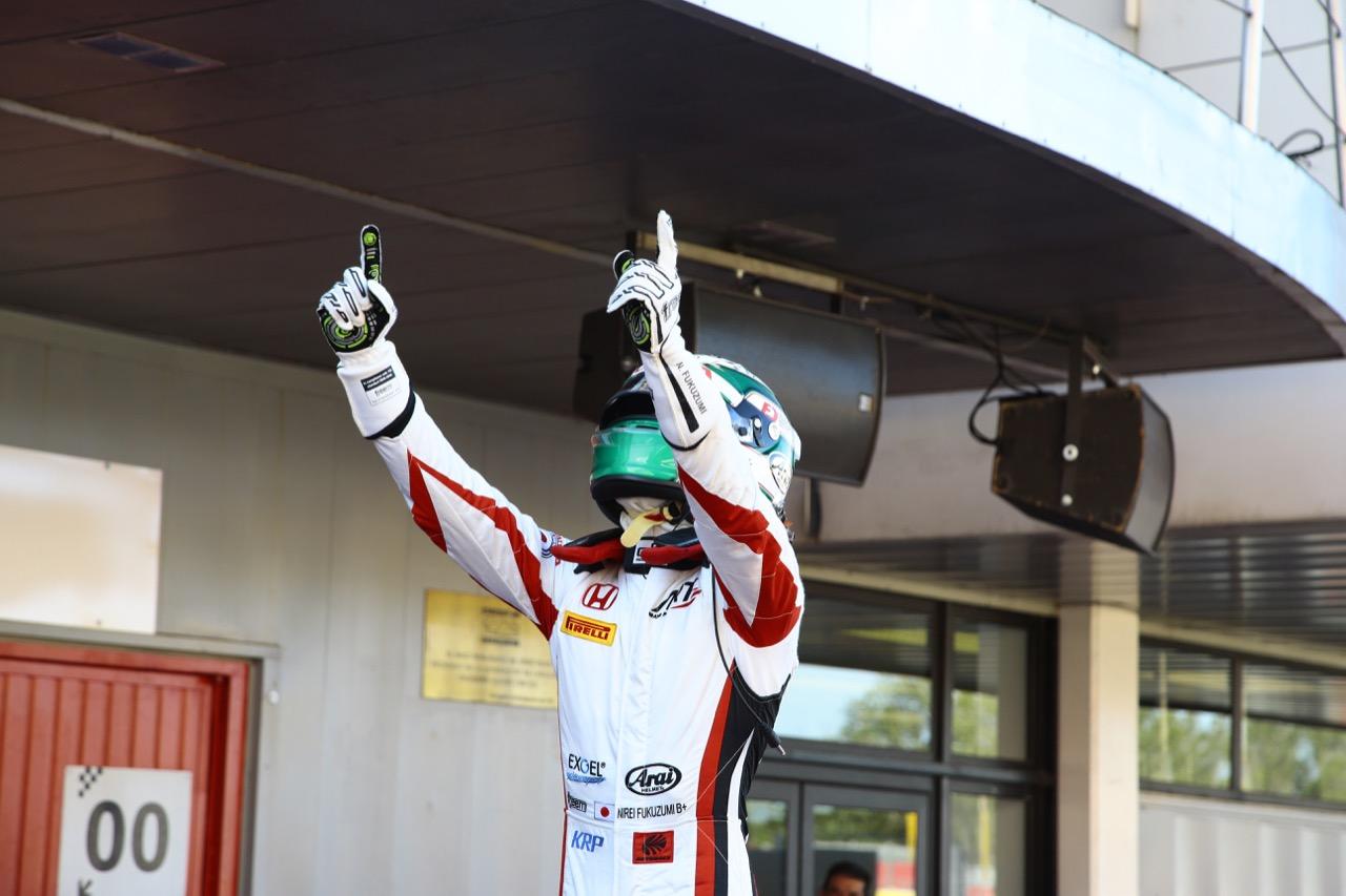 13.05.2017 - Race 1, Nirei Fukuzumi (JAP) ART Grand Prix race winner