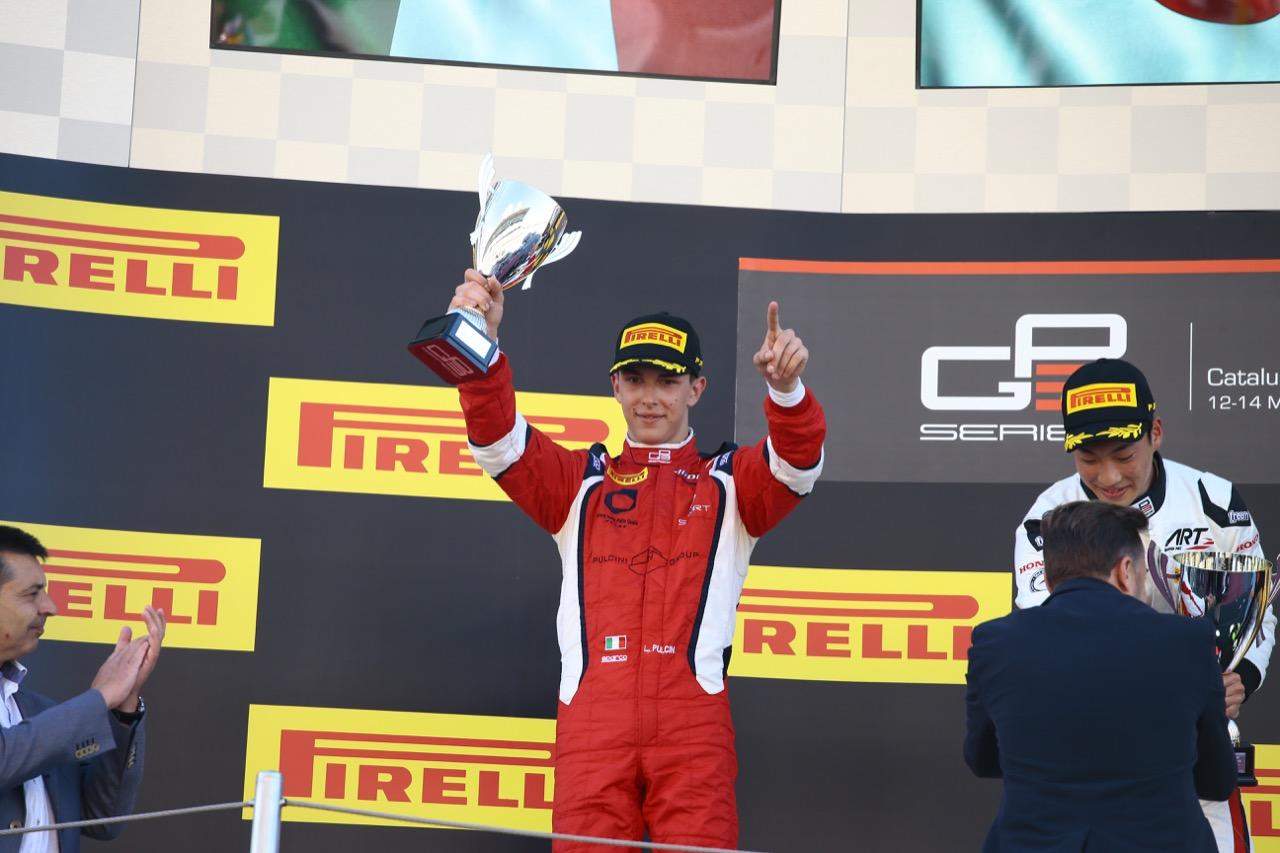 13.05.2017 - Race 1, 2nd place Leonardo Pulcini (ITA) Arden International