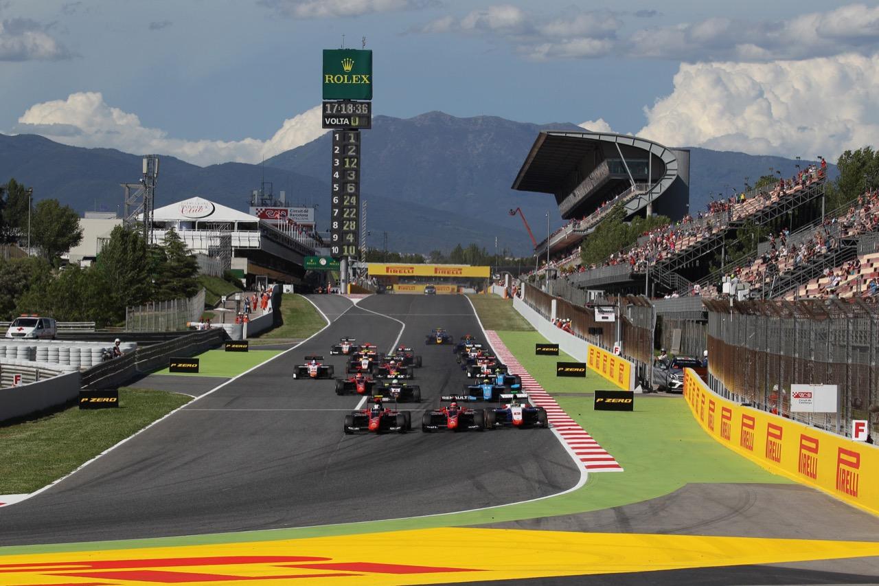 13.05.2017 - Race 1, Start of the race