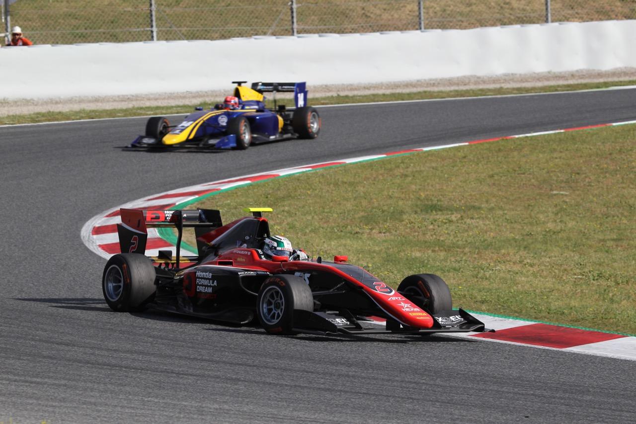 14.05.2017 - Race 2, Nirei Fukuzumi (JAP) ART Grand Prix