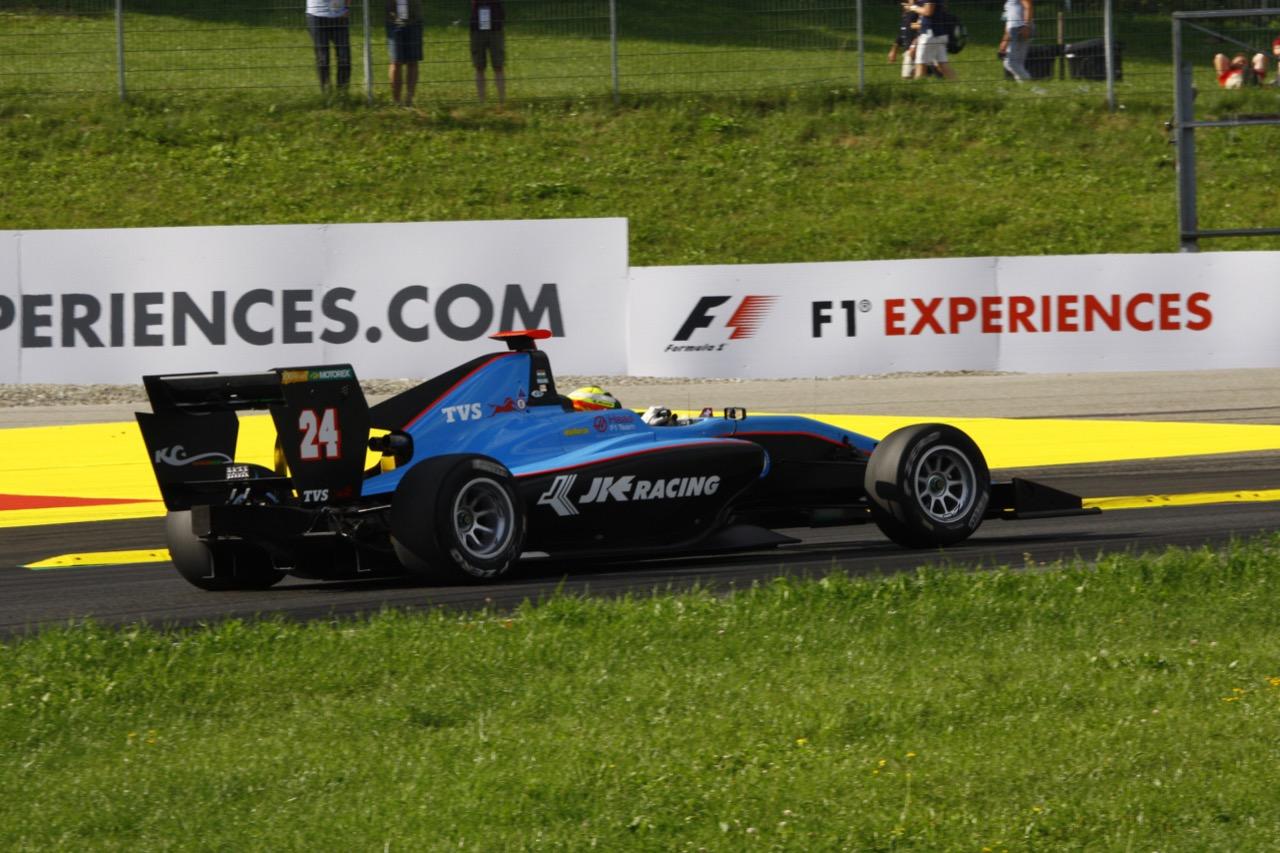 07.07.2017 - Arjun Maini (IND) Jenzer Motorsport