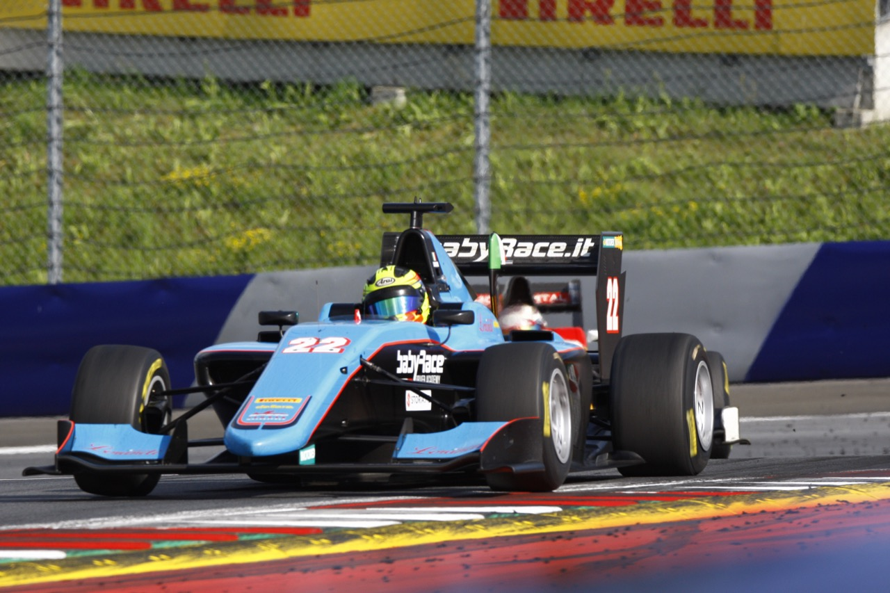 08.07.2017- Race 1, Alessio Lorandi (ITA) Jenzer Motorsport
