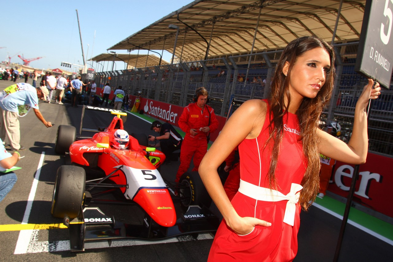 GP3 series, Valencia, Spagna 22-24 giugno 2012