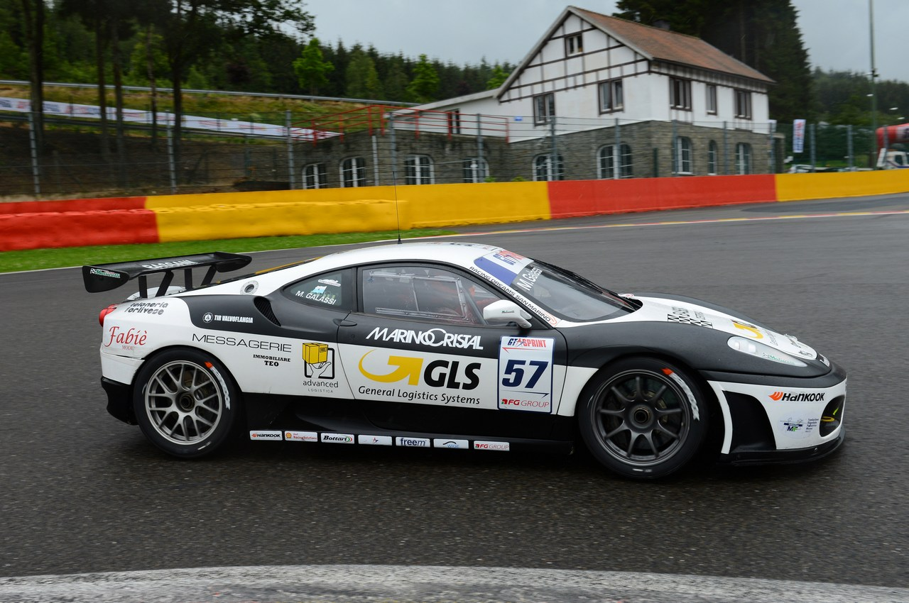 GT Sprint series Spa Francorchamps, Belgium 14-15 07 2012