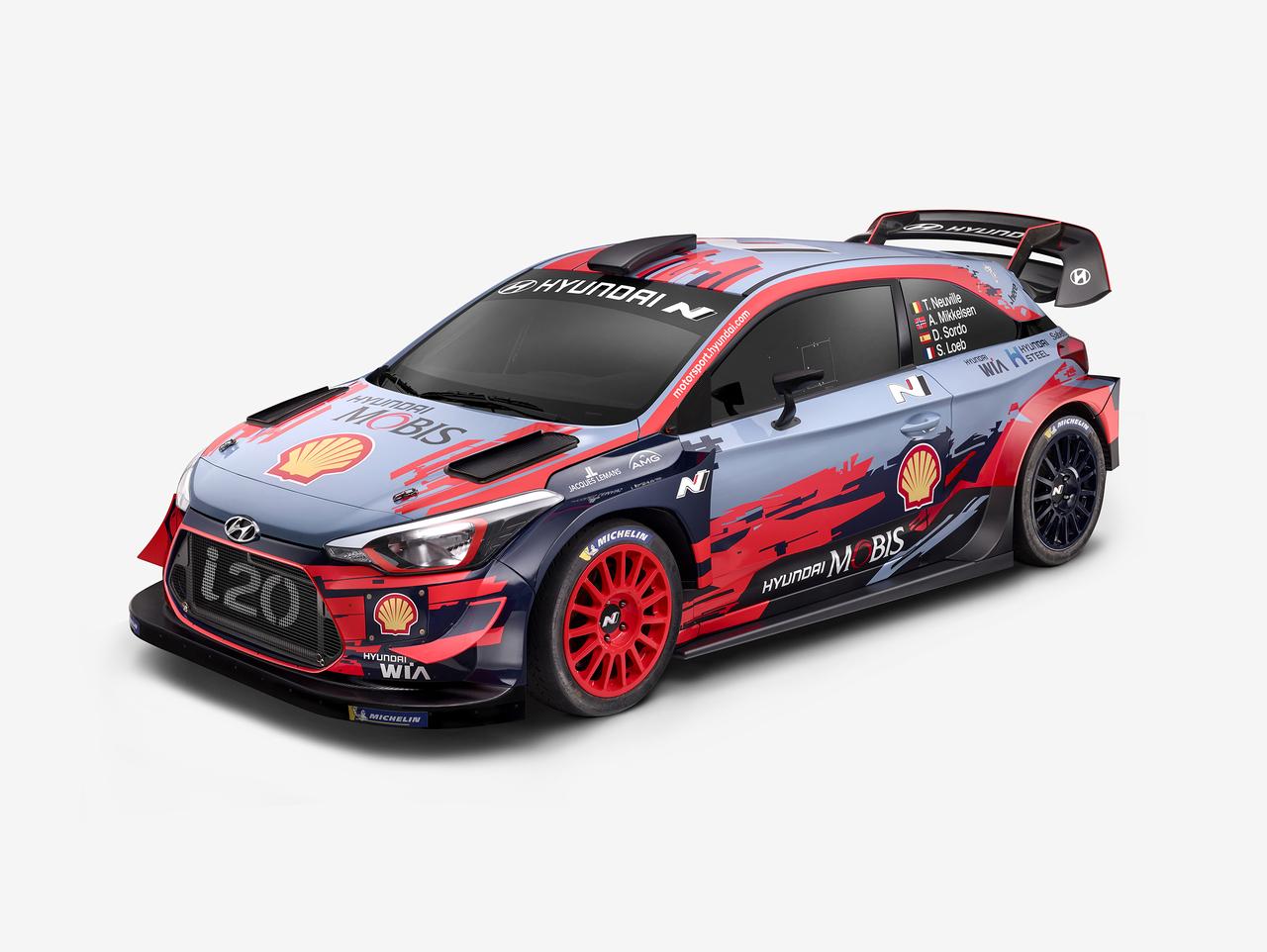 Hyundai i20 Coupé WRC 2019