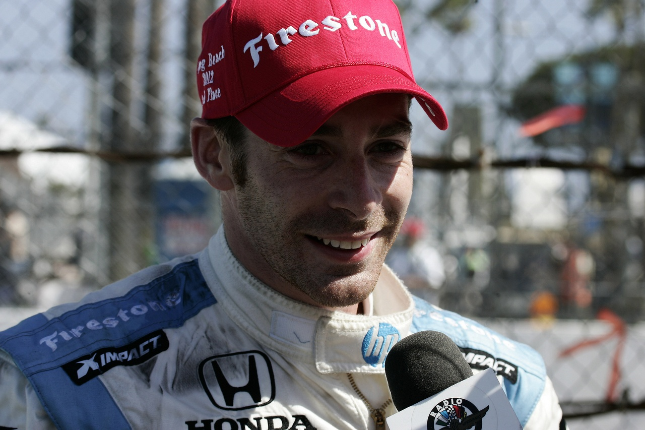 SIMON PAGENAUD, Schmidt/Hamilton Racing  15.04.2012. IZOD Indycar Series, Rd 3, Long Beach, USA