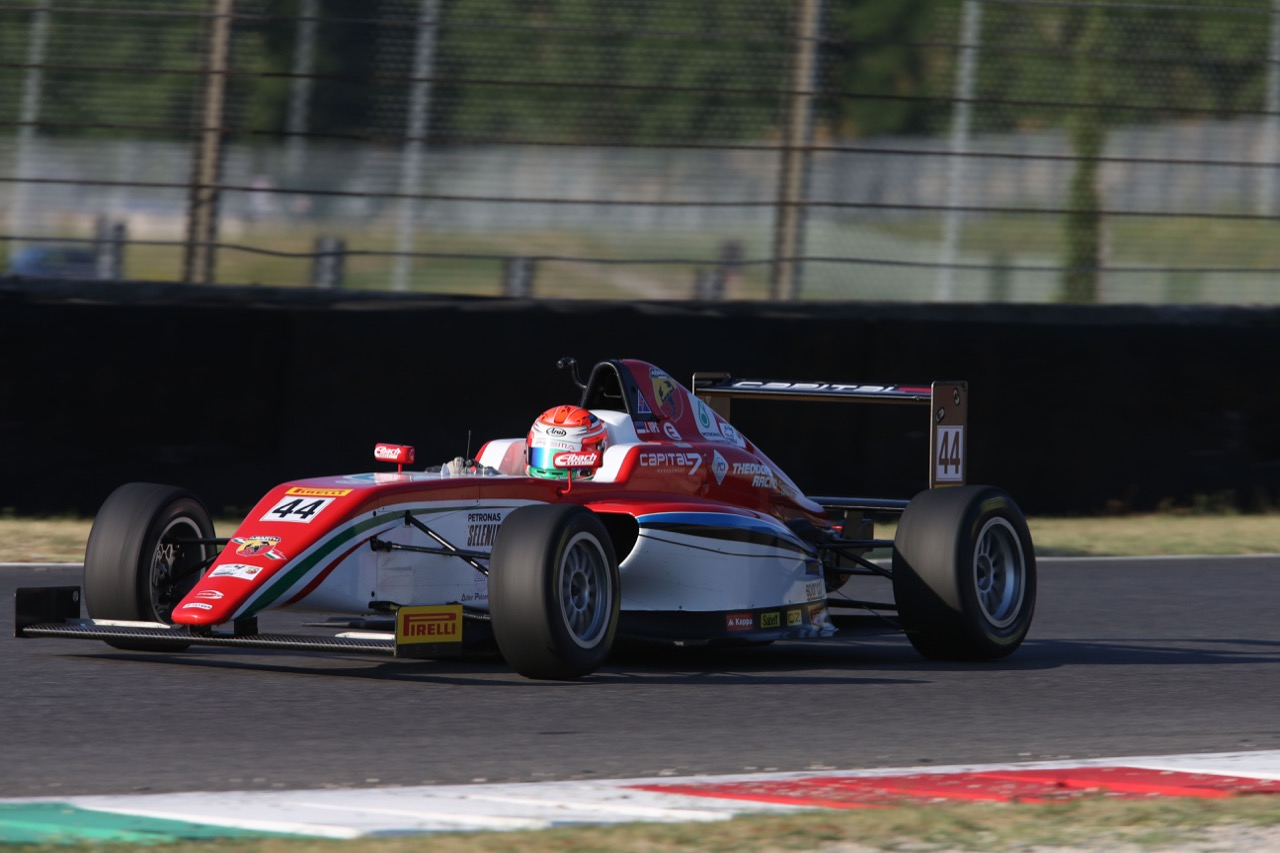 Juri Vips (Prema Power Team,Tatuus F.4 T014 Abarth #44)