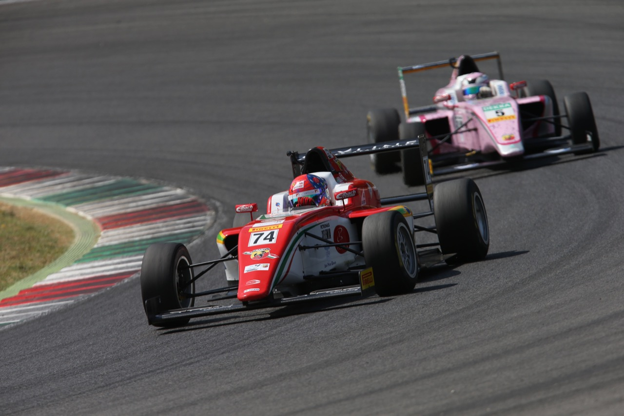 Enzo Fittipaldi (Prema Power Team,Tatuus F.4 T014 Abarth #74)