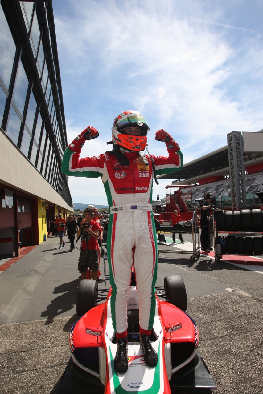Marcus Armstrong (Prema Power Team,Tatuus F.4 T014 Abarth #9)