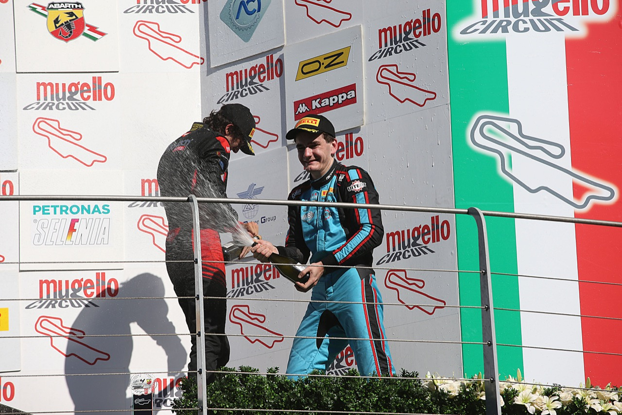 Job Van Uitert  (Jenzer Motorsport,Tatuus F.4 T014 Abarth #16)