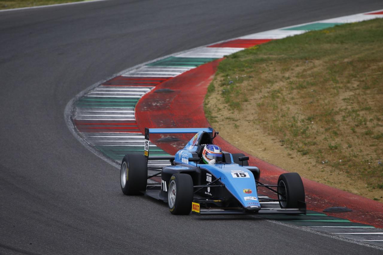 Kush Maini (Jenzer Motorsport,Tatuus F.4 T014 Abarth #15)