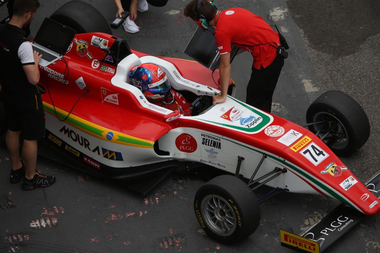 Enzo Fittipaldi (Prema Power Team,Tatuus F.4 T014 Abarth #74)