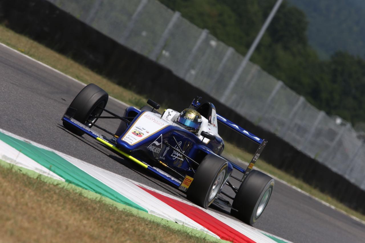 Tom Beckhauser (Cram Motorsport,Tatuus F.4 T014 Abarth #89)