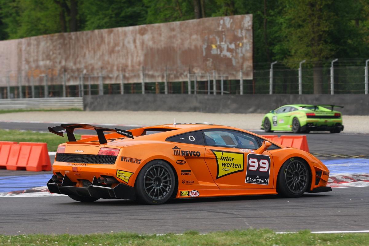 Lamborghini Blancpain Supertrofeo - Monza 2011