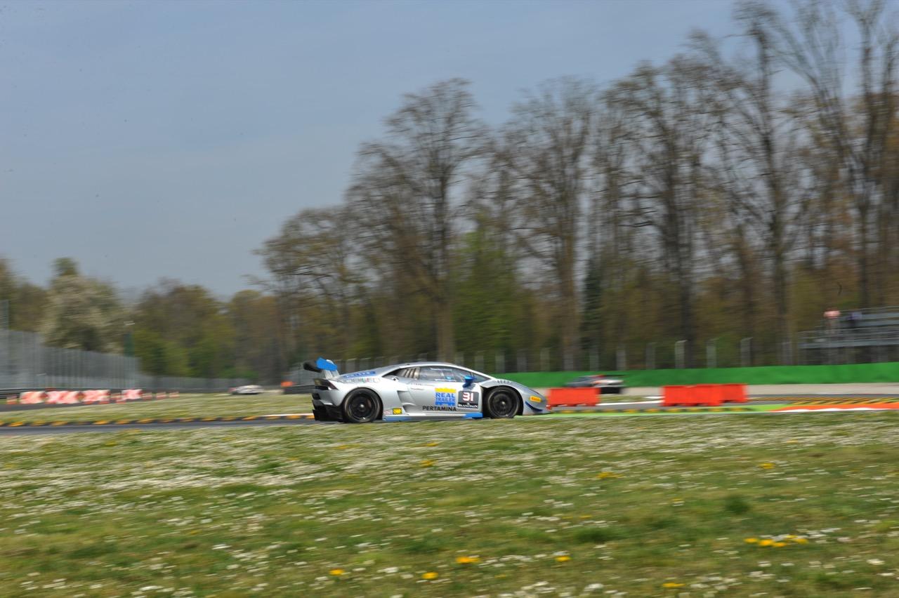 Simone Pellegrinelli (ITA), Lamborghini Huracán LP 620-2 Super Trofeo, Team Imperiale Racing