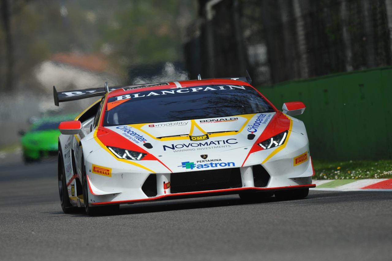 Patrick Kujala (FIN), Lamborghini Huracán LP 620-2 Super Trofeo, Team Bonaldi Motorsport