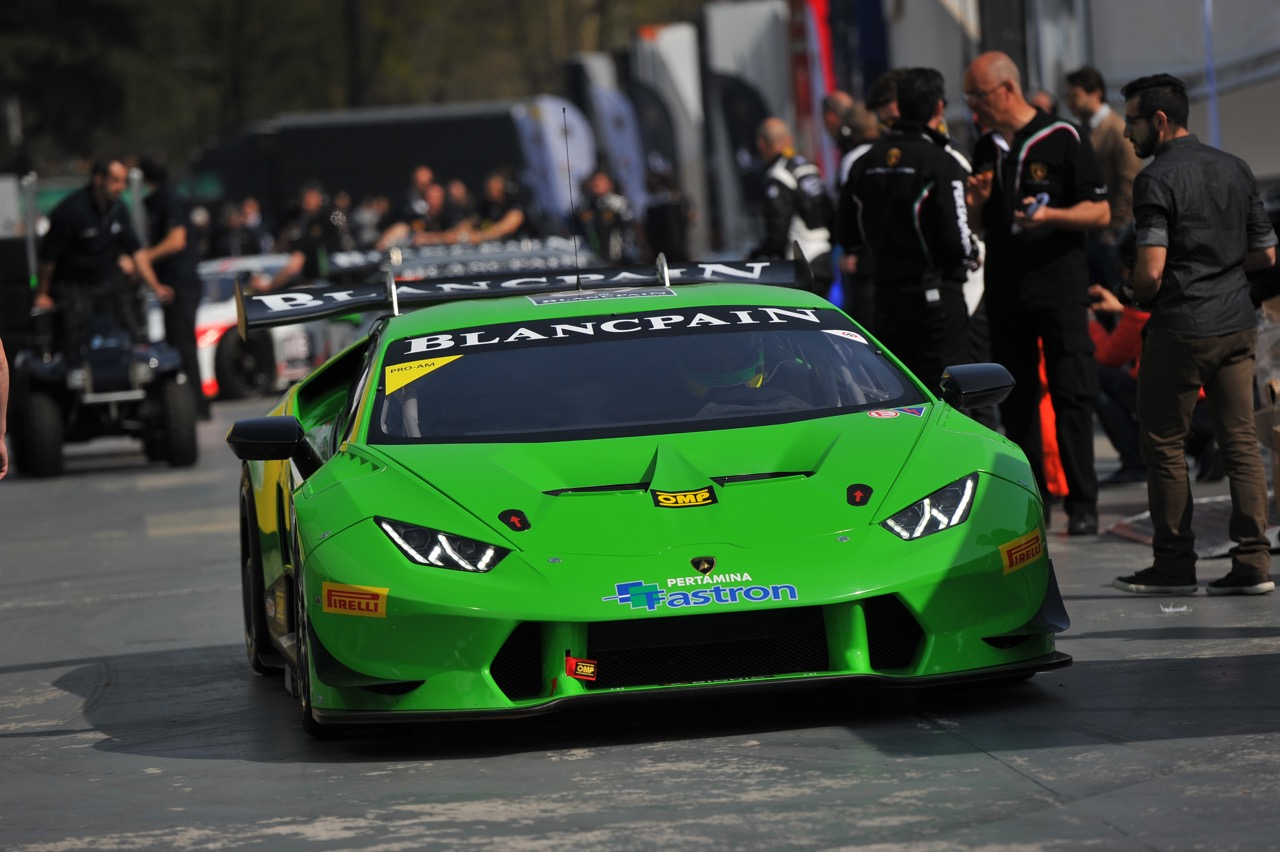 Mikhail Stepanov (RUS), Harald Schlegelmilch (LTU), Lamborghini Huracán LP 620-2 Super Trofeo, Artline Team Georgia