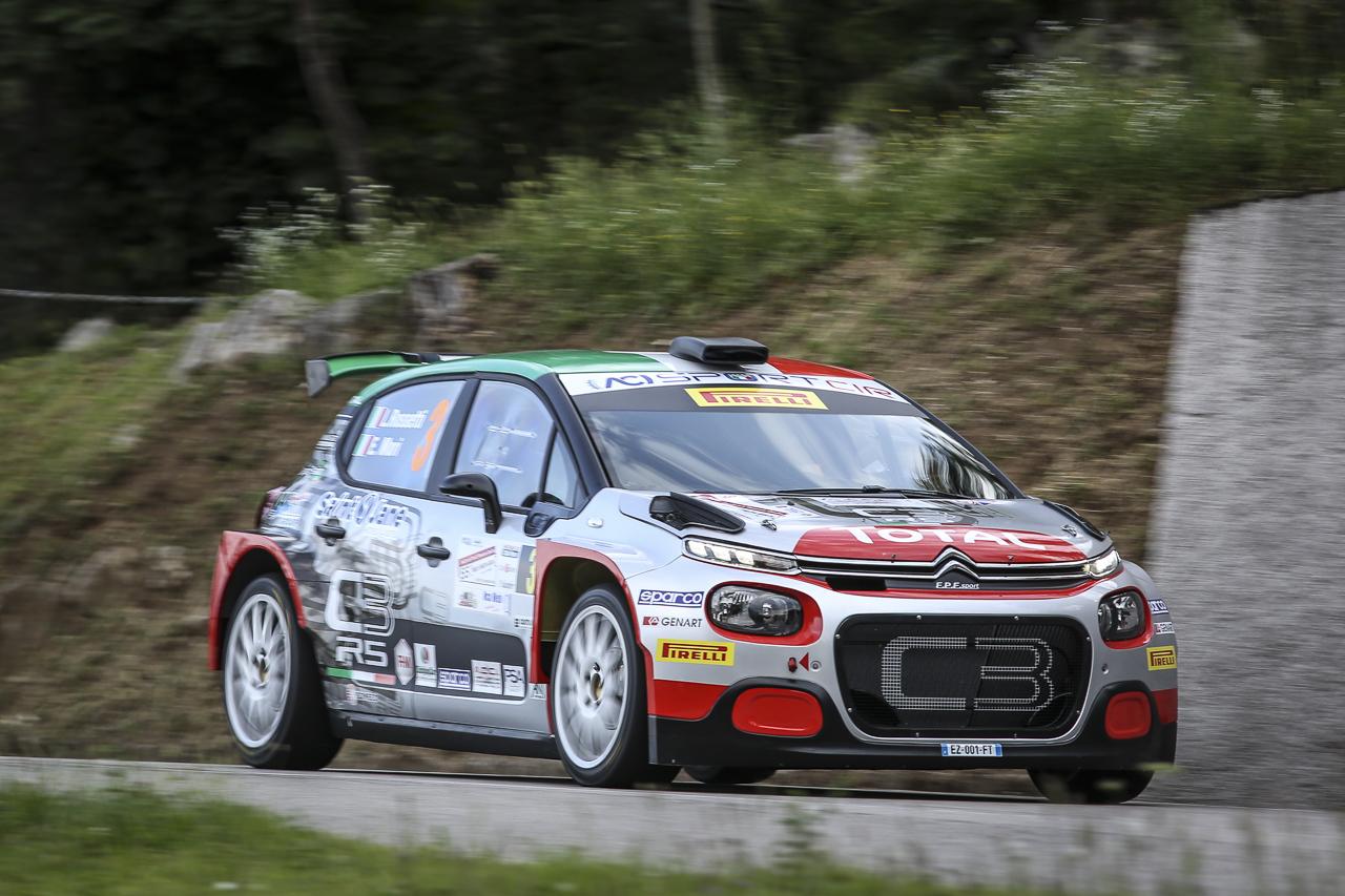 Luca Rossetti ed Eleonora Mori - Rally Friuli Venezia Giulia 2019