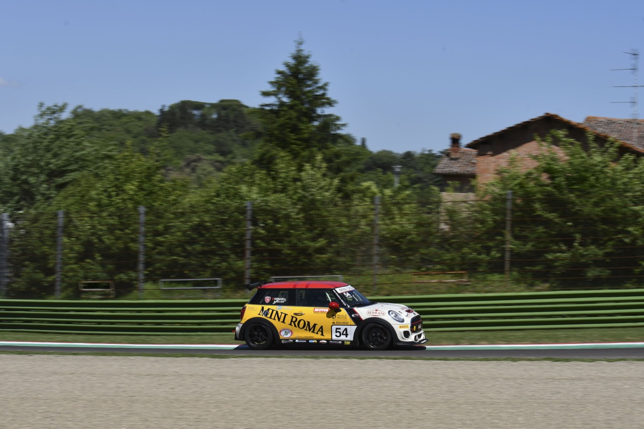 Alessio Alcidi (ITA) Mini John Cooper Works, MIni Roma by CAAL Racing